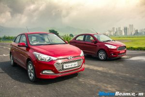 Ford Figo Aspire vs Hyundai Elite i20 Shootout