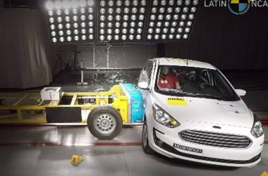 Ford Figo Facelift Scores 3 Stars In Latin NCAP [Video]