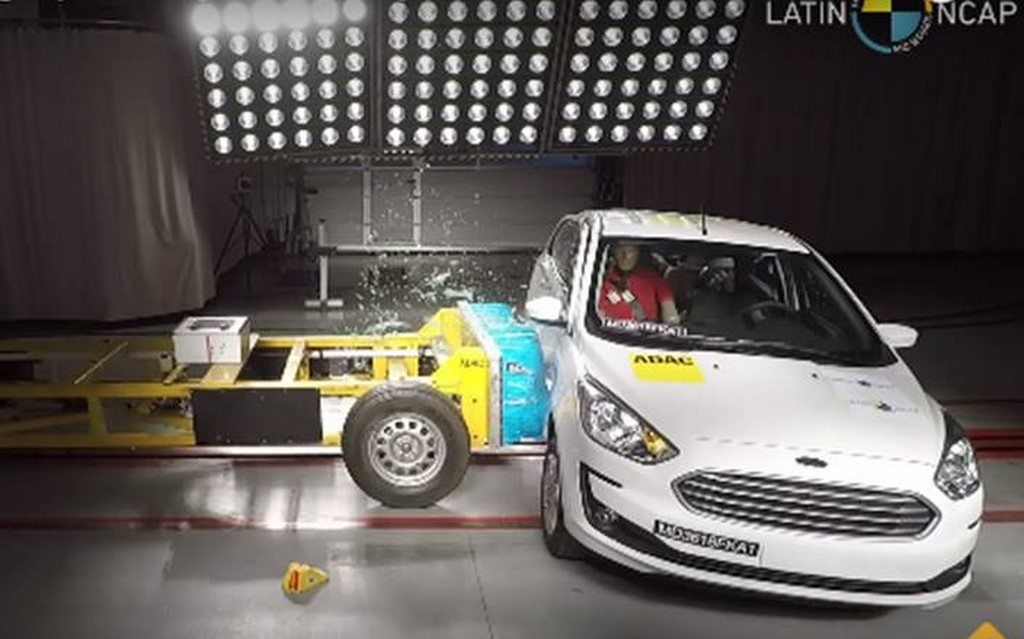 Ford Figo Crash Test