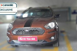 Ford Figo Crossover Spotted