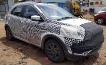 Ford Figo Crossover Spotted In India