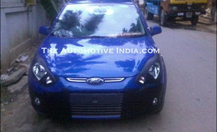 Ford Figo Spied Front