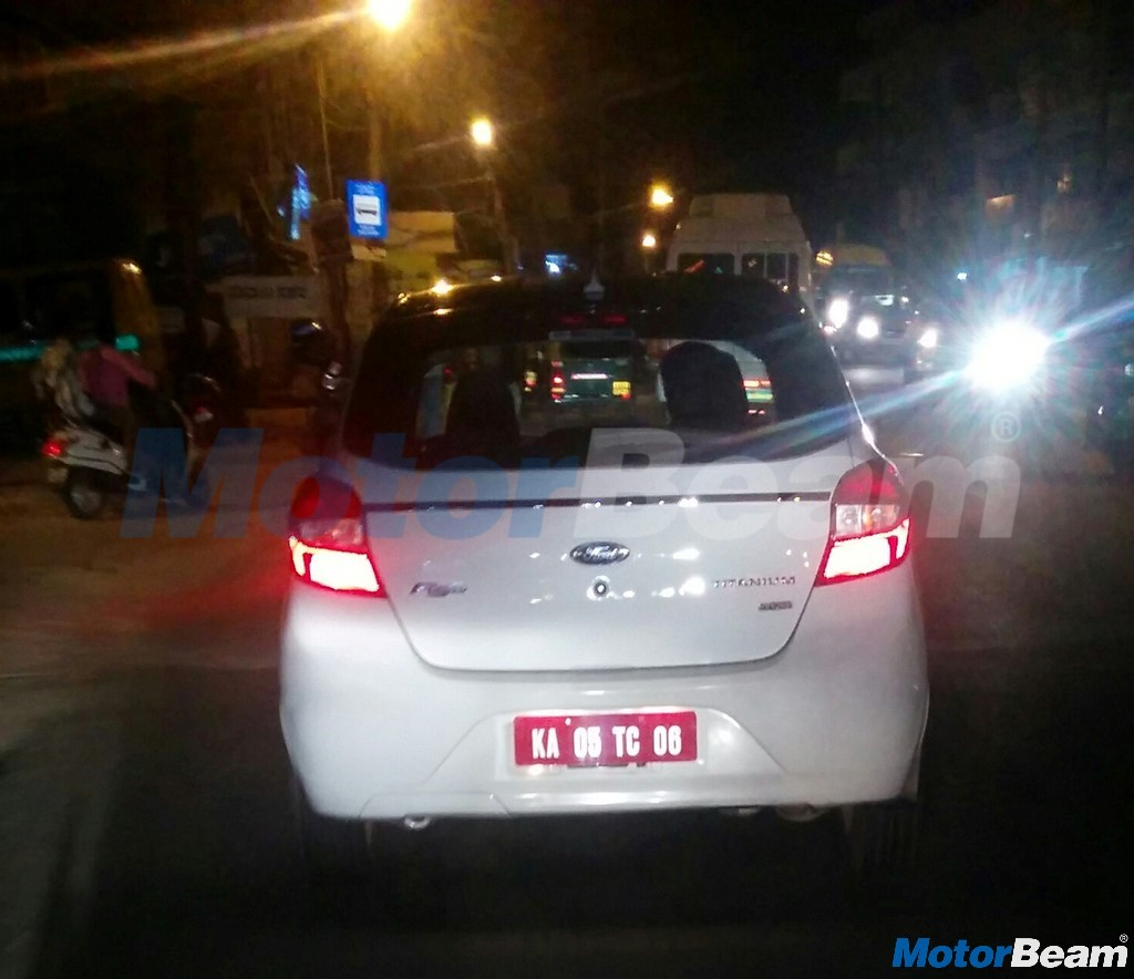 Ford Figo Titanium+ Rear