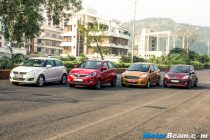 Ford Figo vs Hyundai Grand i10 vs Maruti Swift vs Tata Bolt