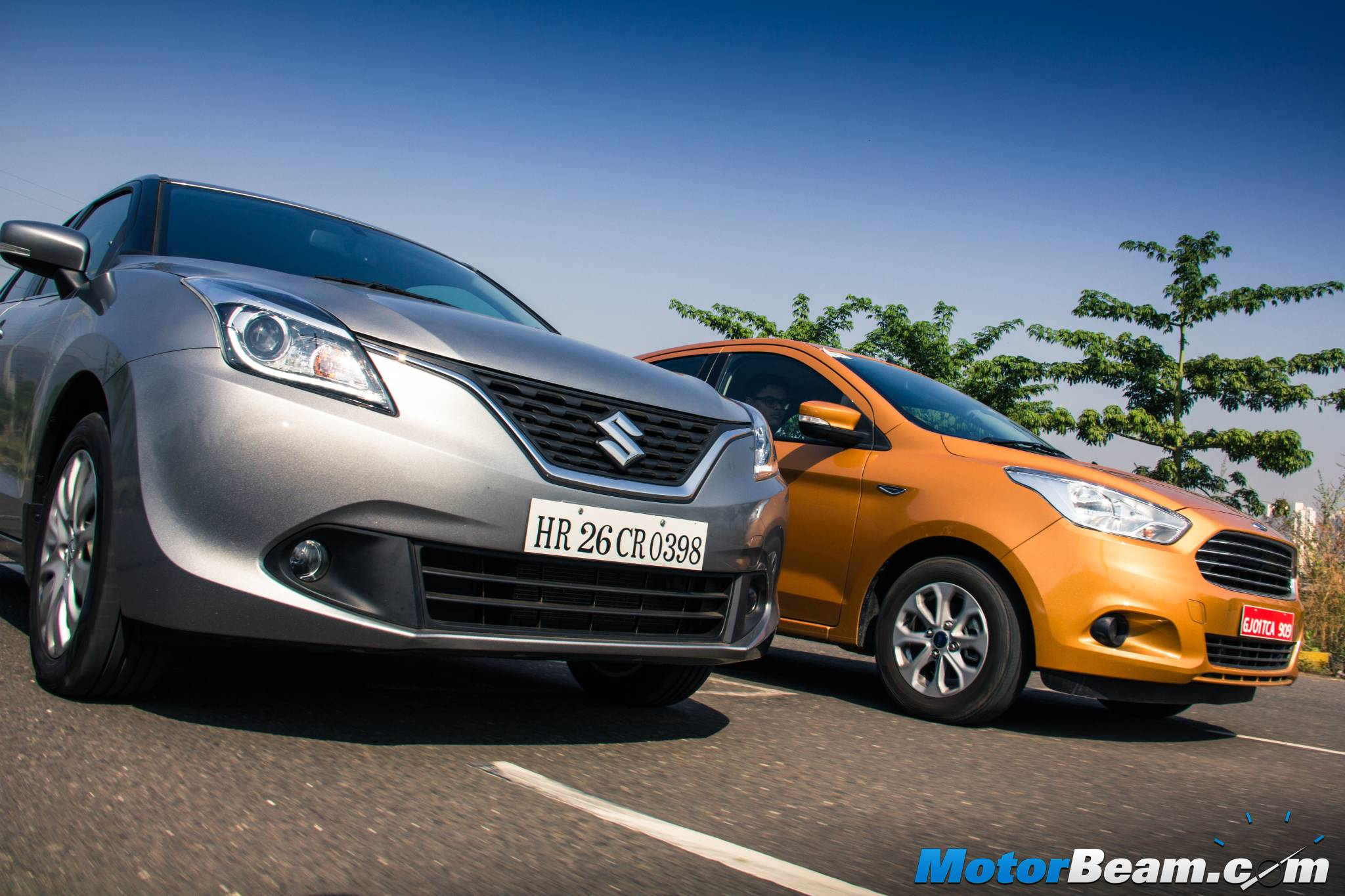 Ford Figo vs Maruti Baleno Shootout
