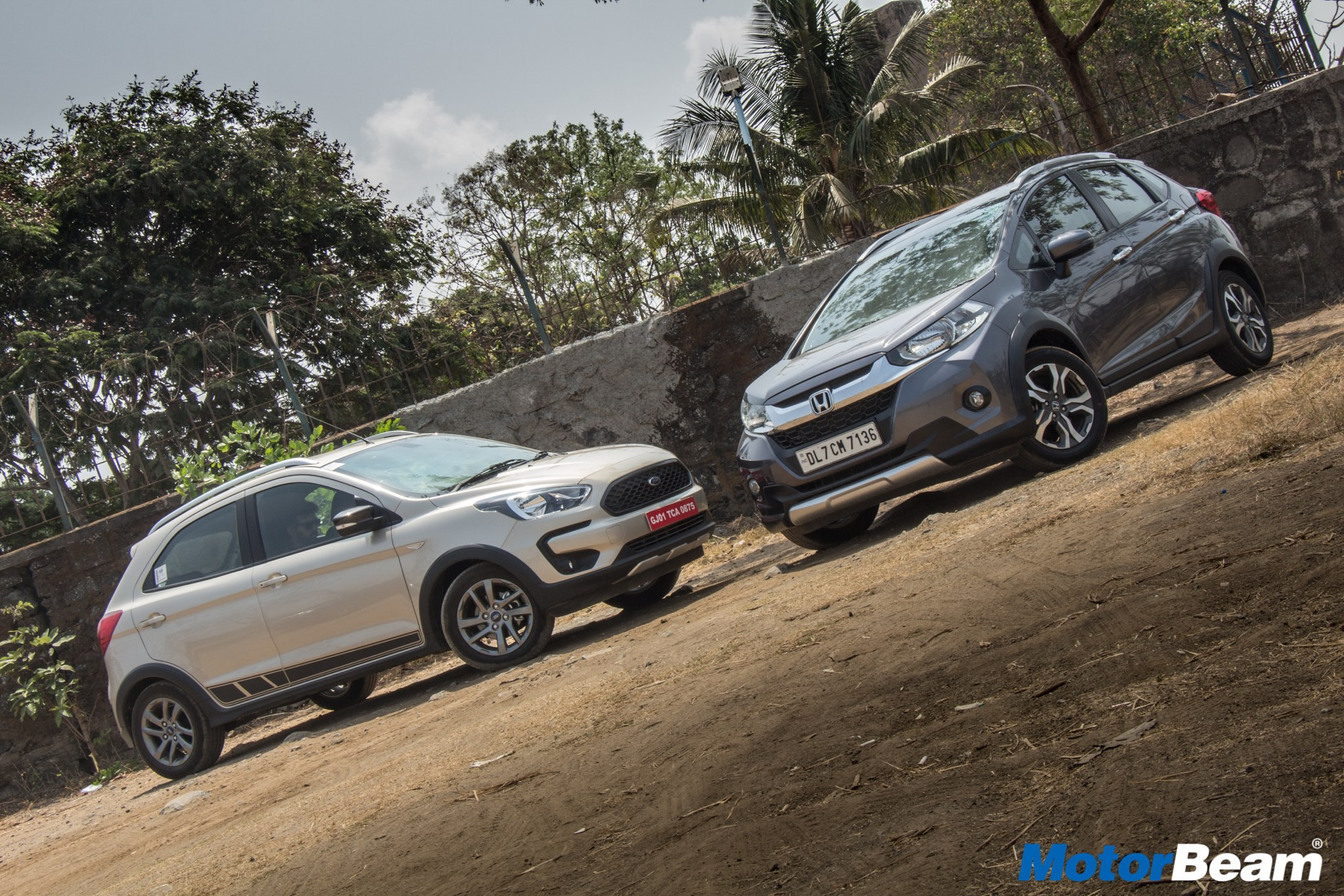 Ford Freestyle vs Honda WR-V Comparison Test