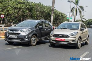 Ford Freestyle vs Honda WR-V Video
