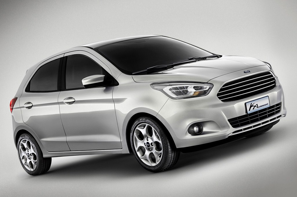 Ford Ka Concept Front Profile