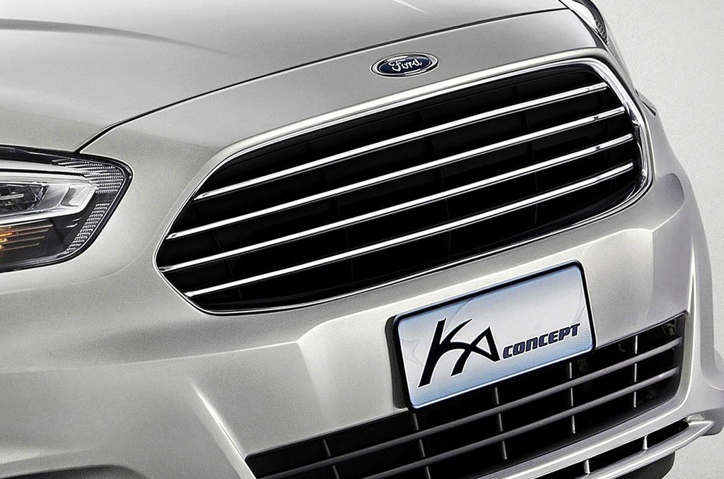 Ford Ka Concept Grille