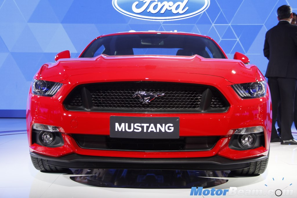 Ford Mustang Auto Expo 2