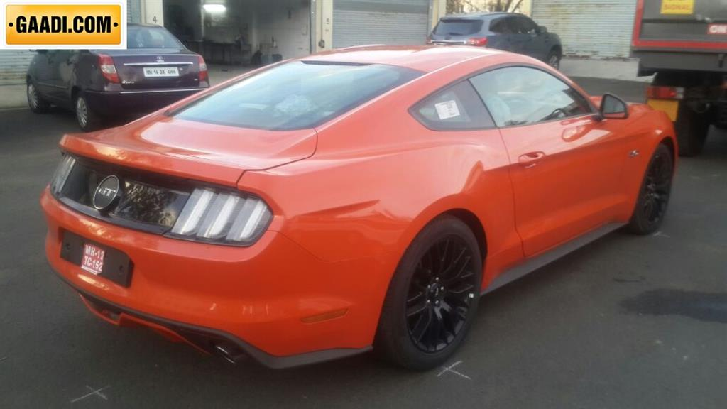 Ford Mustang India Rear