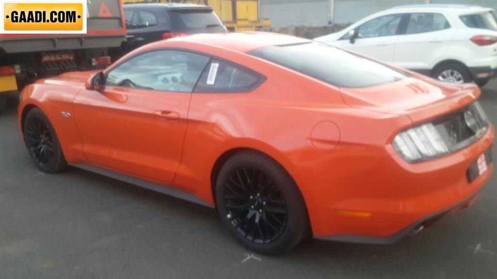 Ford Mustang India Side