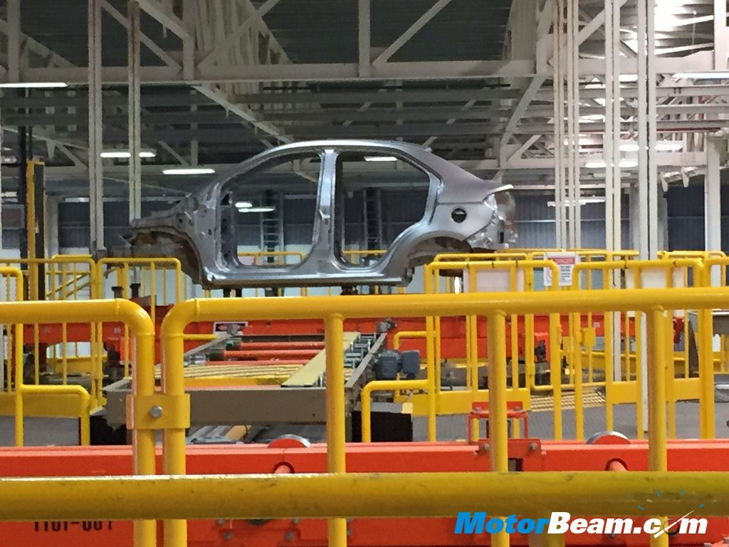 Ford Sanand Plant Assembly Line