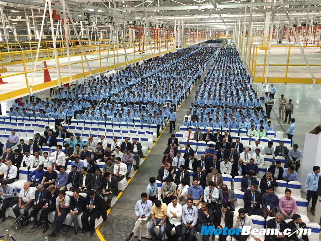 Ford Sanand Plant Workers