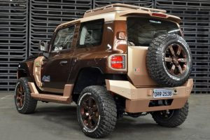 Ford Troller T4 Concept Rear
