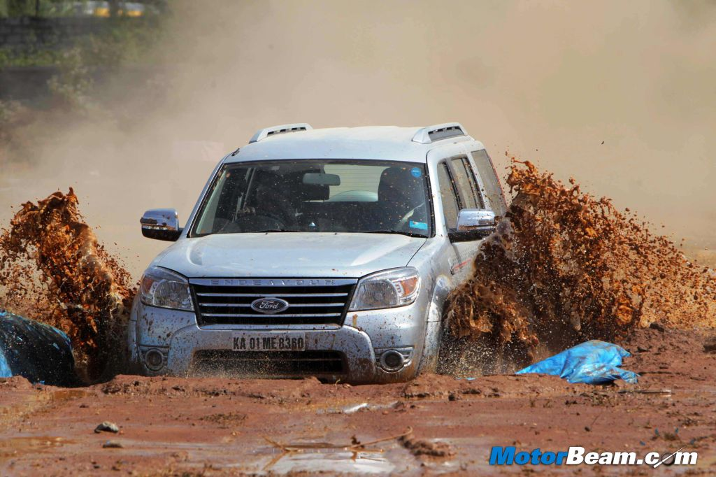 Ford Endeavour Action