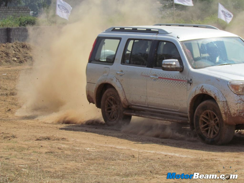 Ford Endeavour Off-Road Bangalore