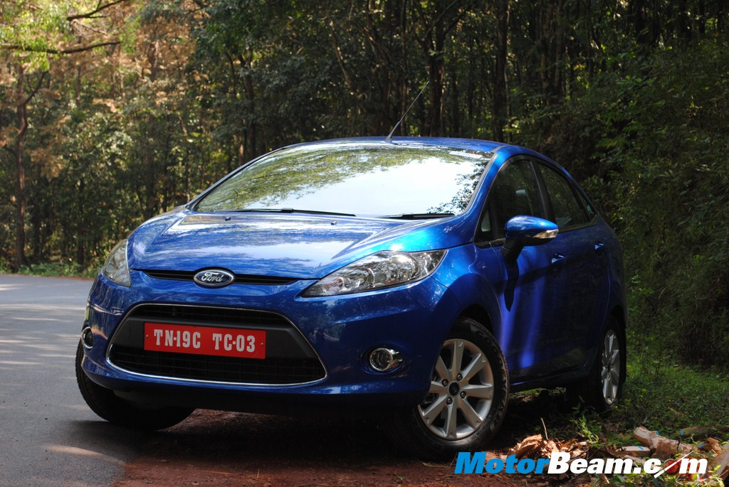 Ford Fiesta Automatic Front