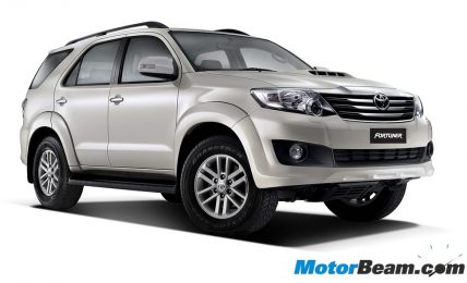Fortuner Pearl White Mica