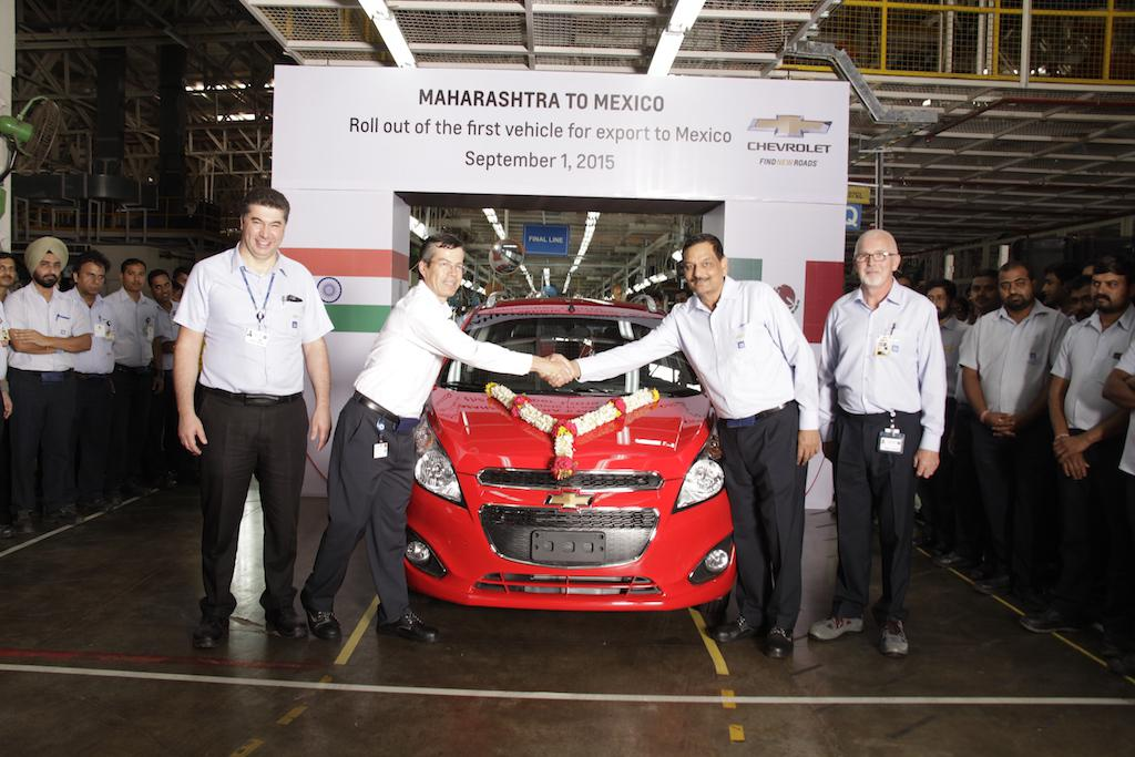 GM India Chevrolet Beat Exports Mexico