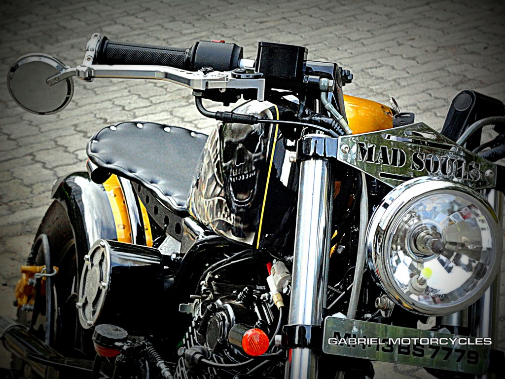 Gabriel Motorcycles Bobber Front