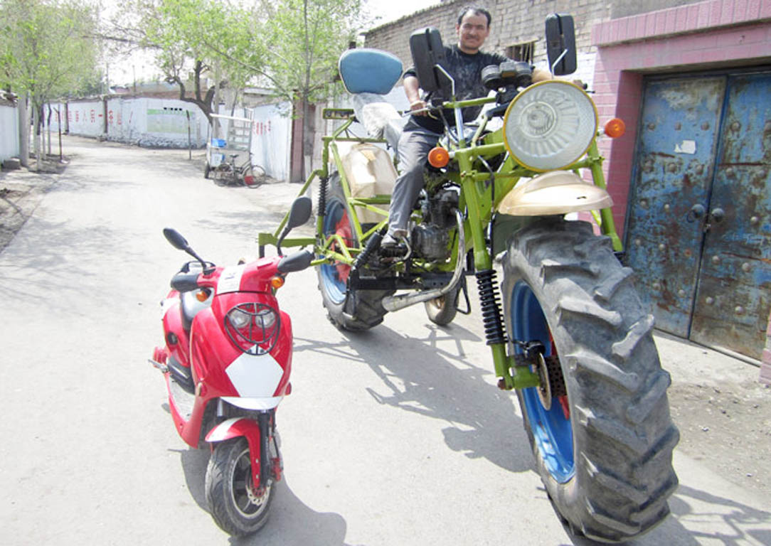 Giant Chinese Motorcycle