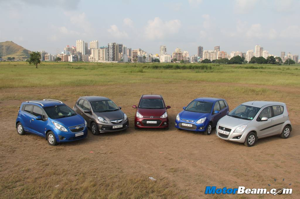 Grand i10 vs Brio vs Figo vs Ritz vs Beat