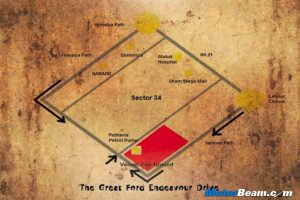 Great Endeavour Drive Map