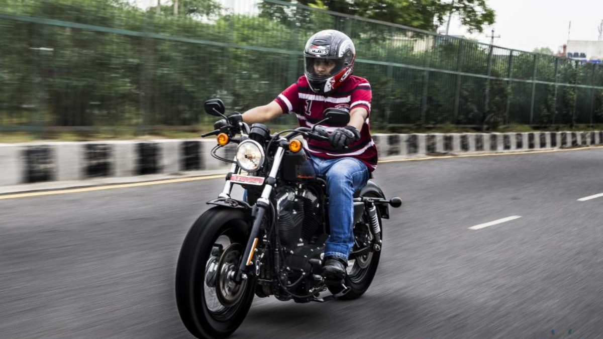 Harley Davidson Forty Eight Test Ride Review