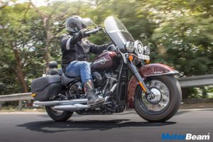 Harley Davidson Heritage Classic Test Report