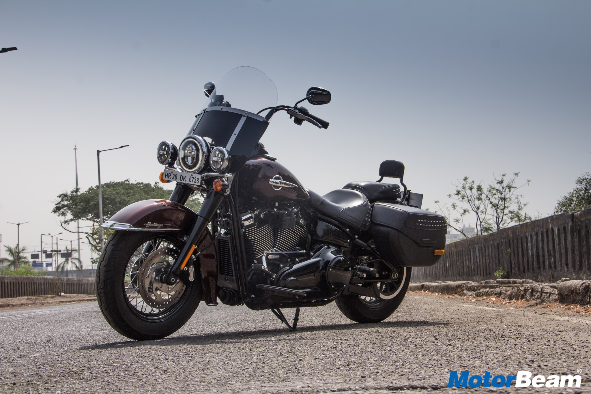 Harley Davidson Heritage Review Test Ride