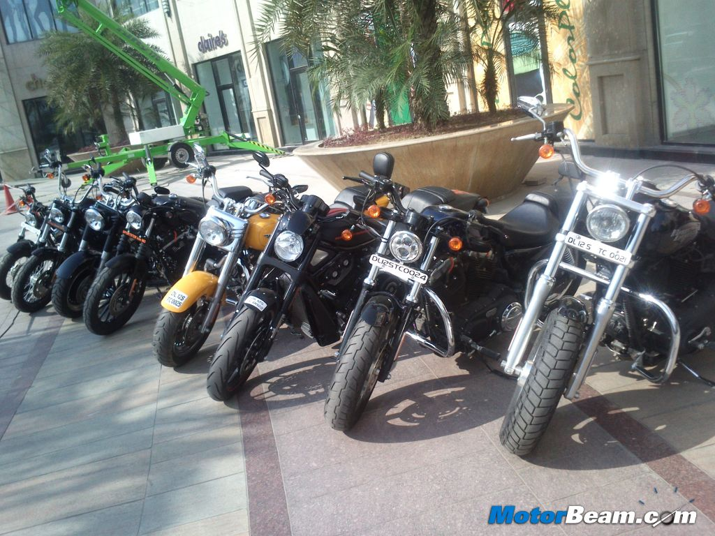Harley-Davidson India Launch