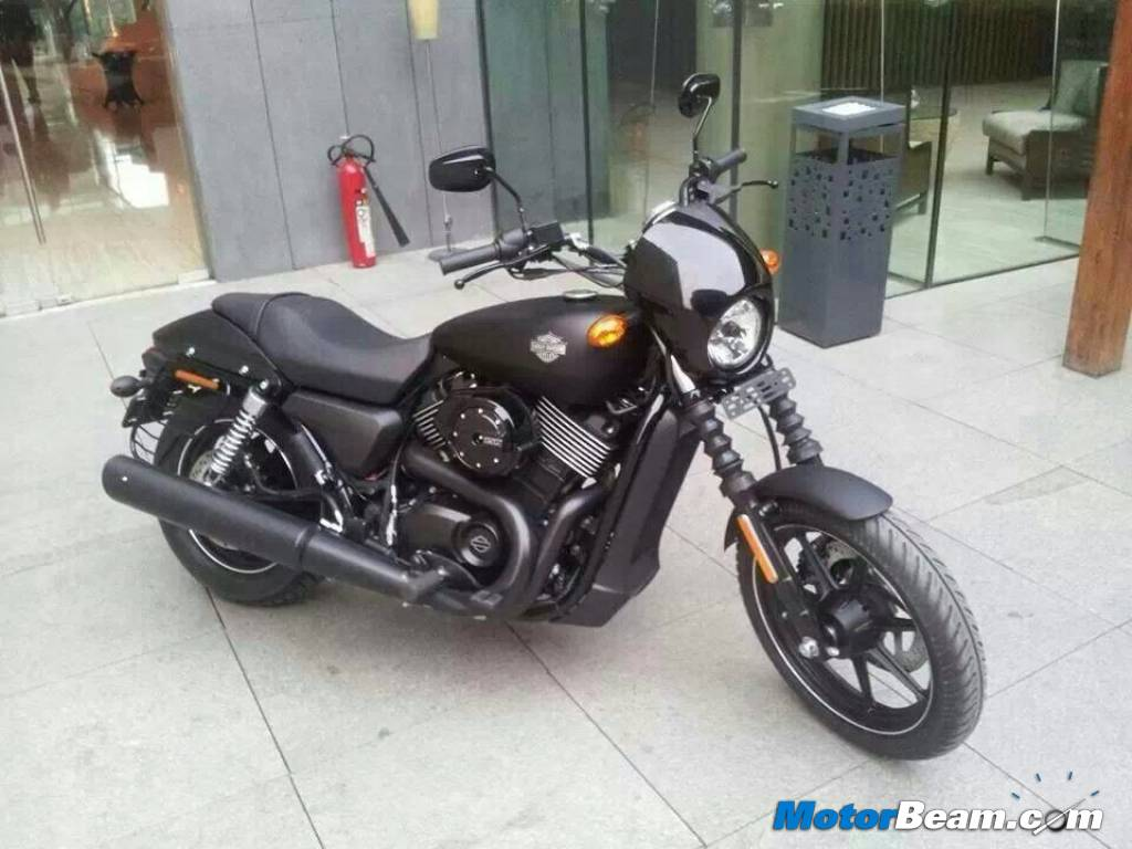 harley-davidson street 750 pictures in india prior to unveil