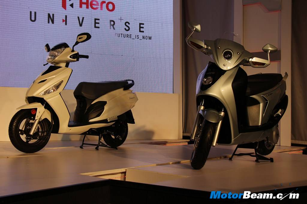 Hero Dash Leap Scooters