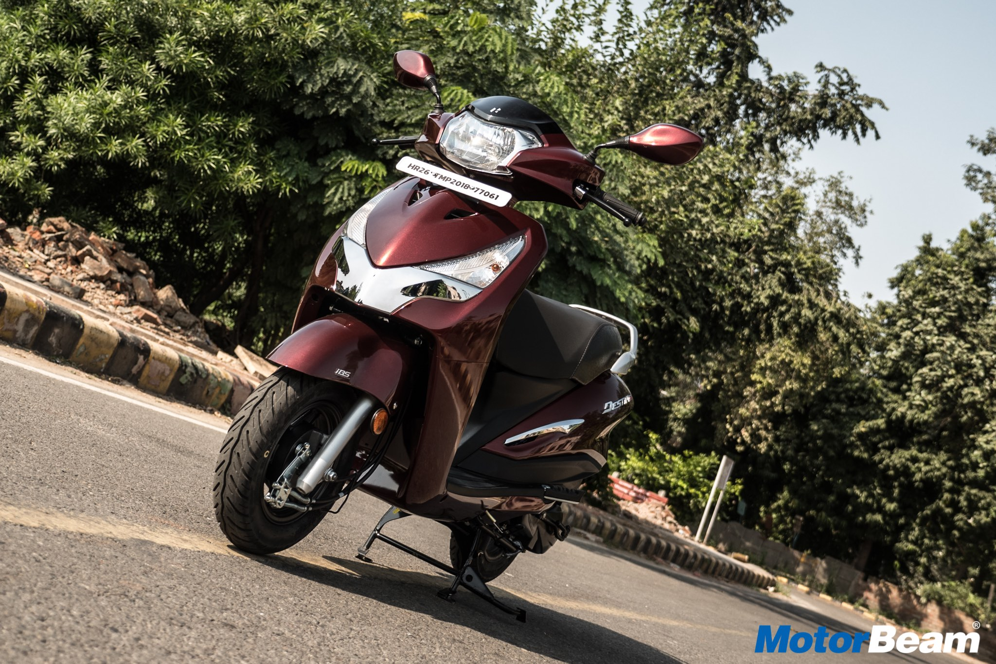 Hero Destini 125 Review Test Ride