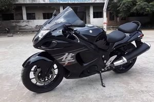 Hero Karizma Modified Into Suzuki Hayabusa