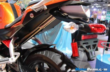 Hero HX250R Flashes EBR Power At Auto Expo [Live]