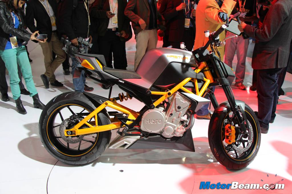 Hero MotoCorp Hastur Side