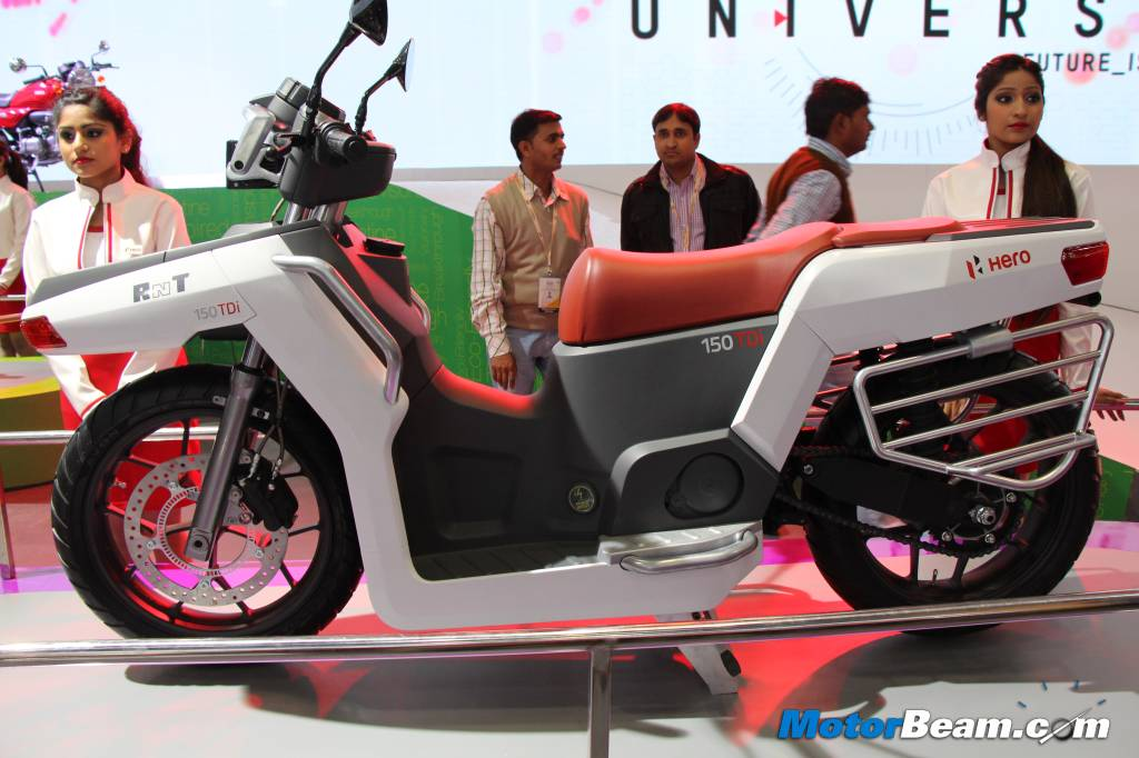 Hero RNT Scooter Concept Side