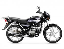 Hero Splendor Plus Purple Silver
