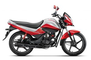 Hero Splendor iSmart 110 Red