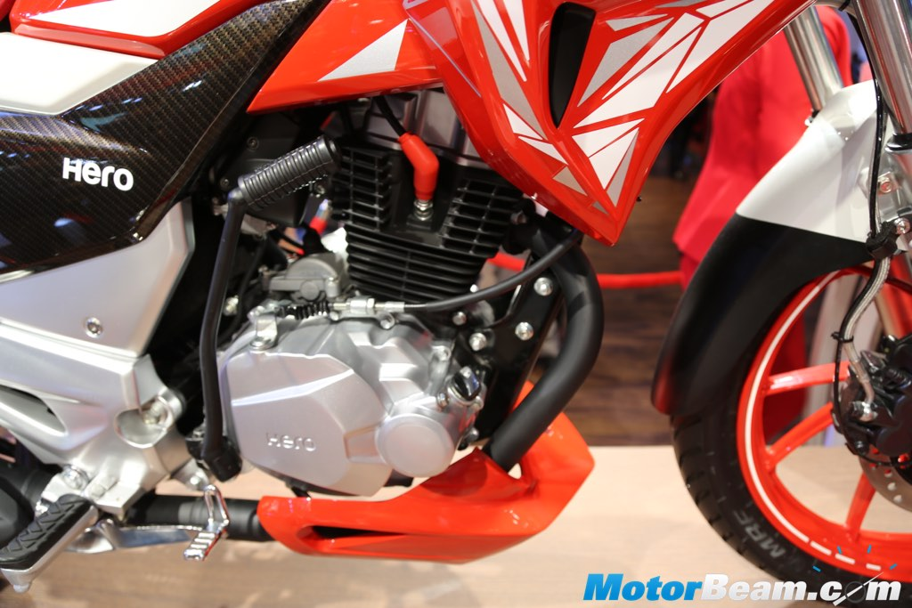 Hero Xtreme 200S Engine