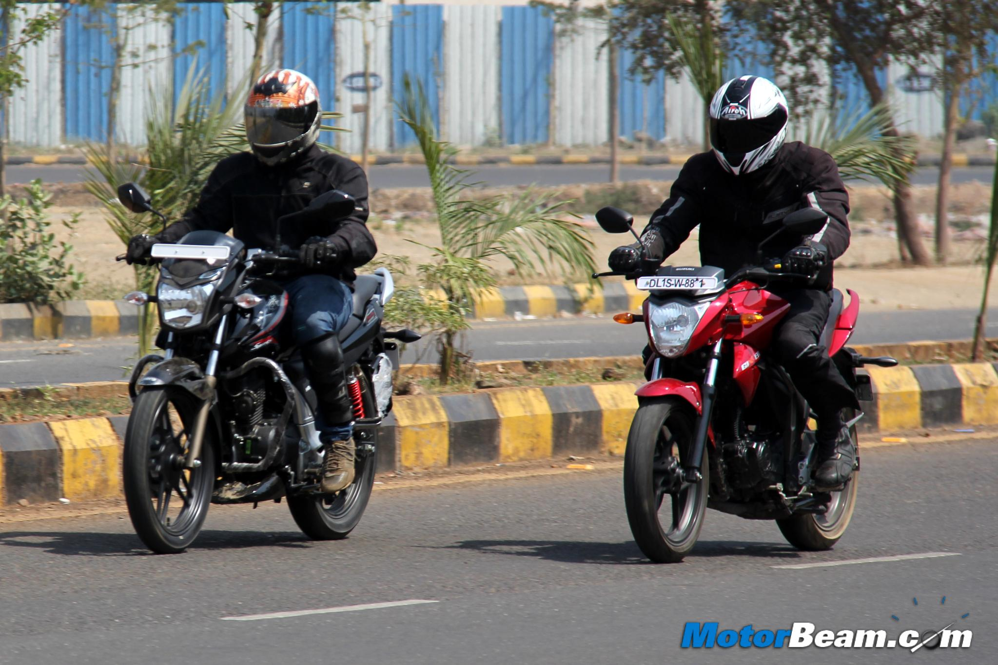 Hero Xtreme Sports vs Suzuki Gixxer Review