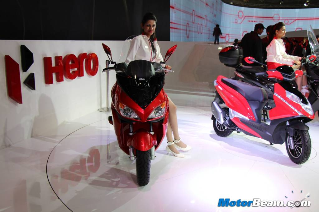Hero Zir Scooter 09