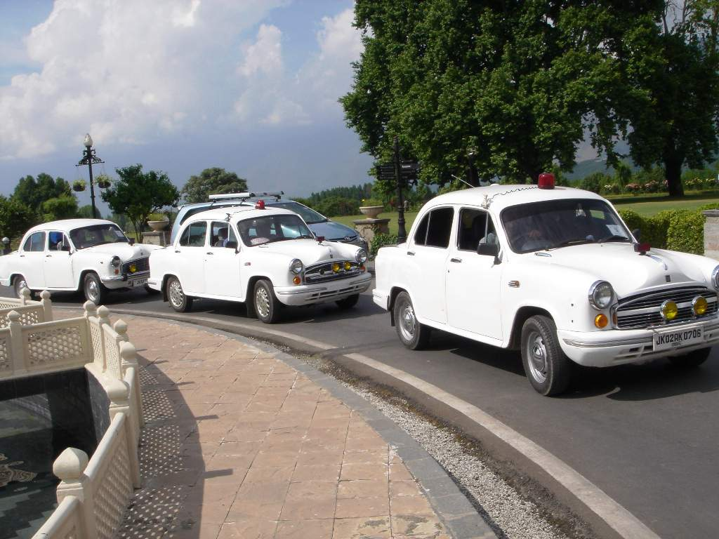 Hindustan Ambassador Government Vehicle