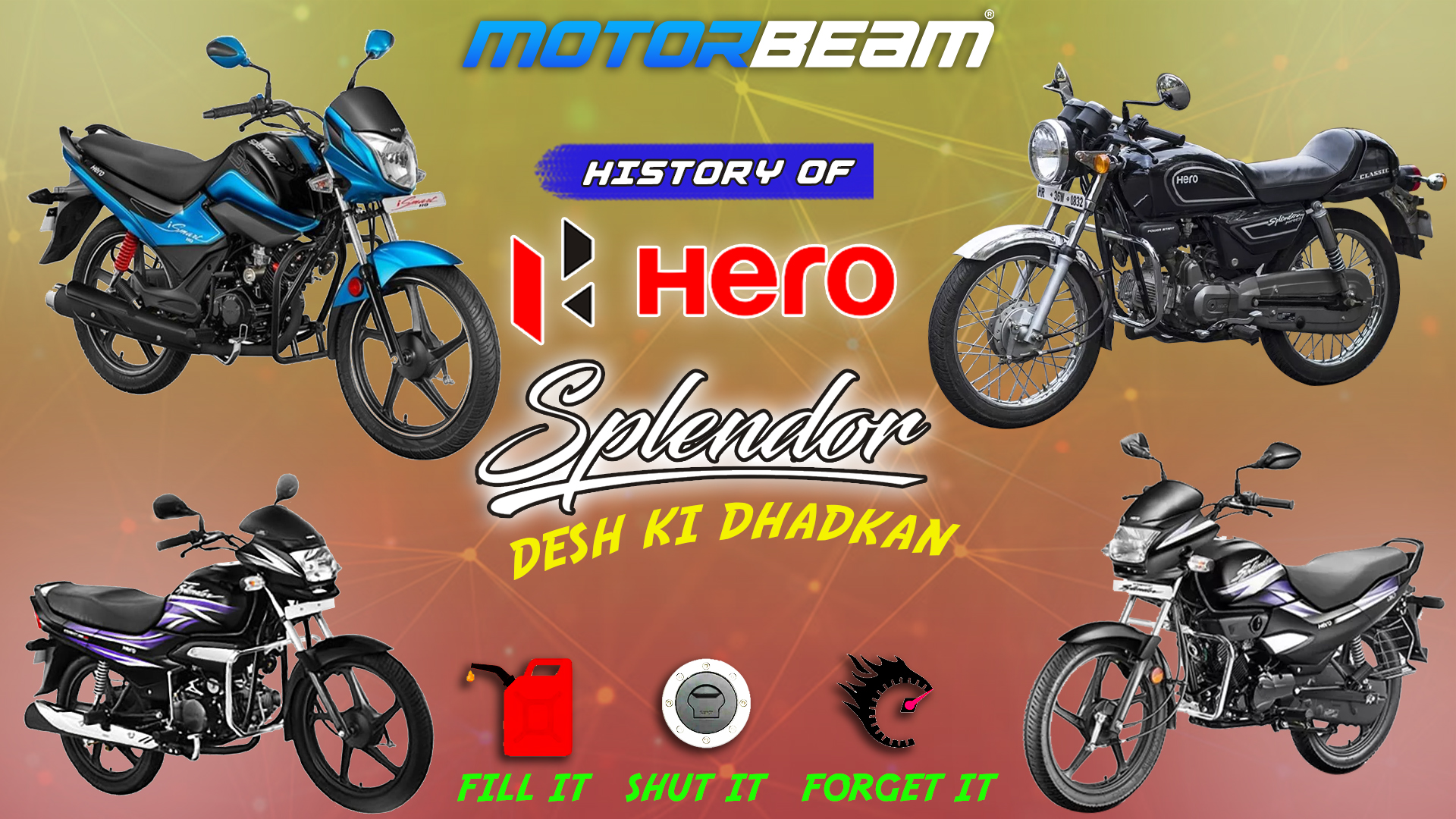 History Of Hero Splendor Video
