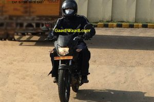 Honda 125cc Motorcycle Spied