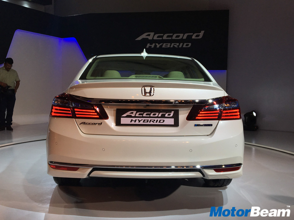 Honda Accord Hybrid Launched