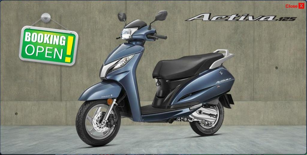 Honda Activa 125 Launch Website