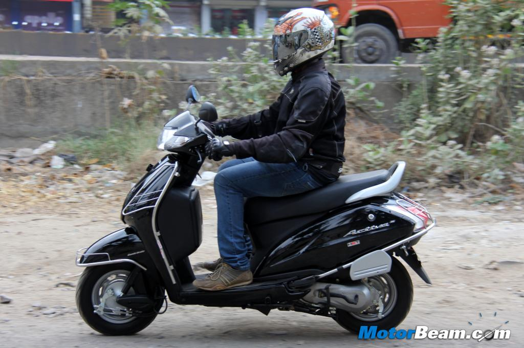 Honda Activa 3G Road Test